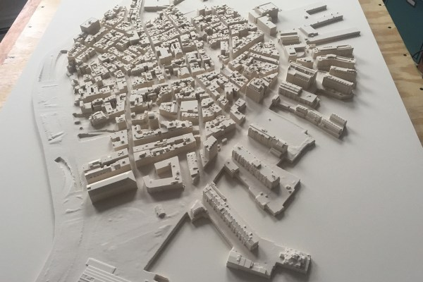 North End Map CNC Milling Completed