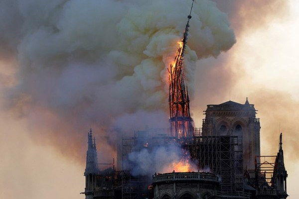 Notre Dame is burning!