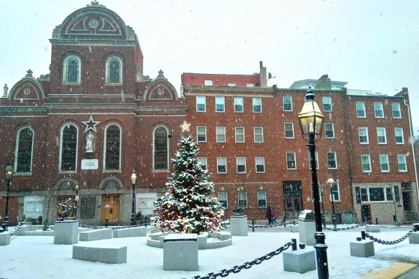 Merry Winter, North Square