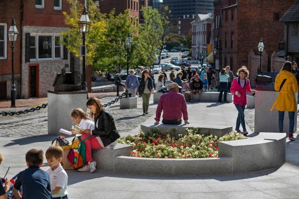 Boston's new North Square is a 2020 Preservation Achievement Award winner!
