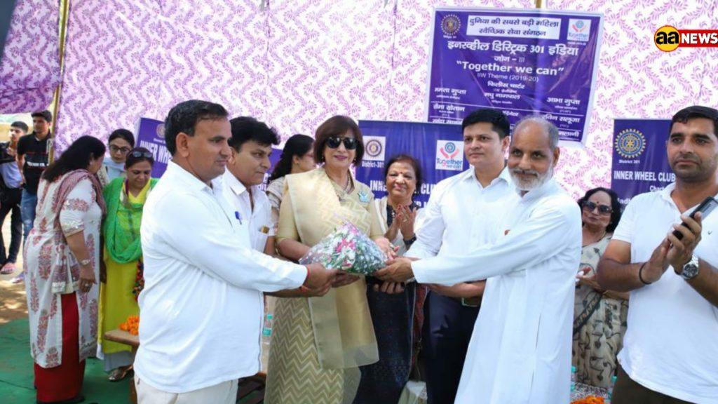 इंटरनेशनल इनरव्हील क्लब प्रधानमंत्री नरेंद्र मोदी की योजनाओं से हुआ प्रेरित
