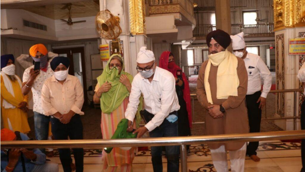 ए.सी.एम.ई इंडिया ने गुरुद्वारा बंगला साहिब में ए आई शील्डस की कोटिंग शुरु की।