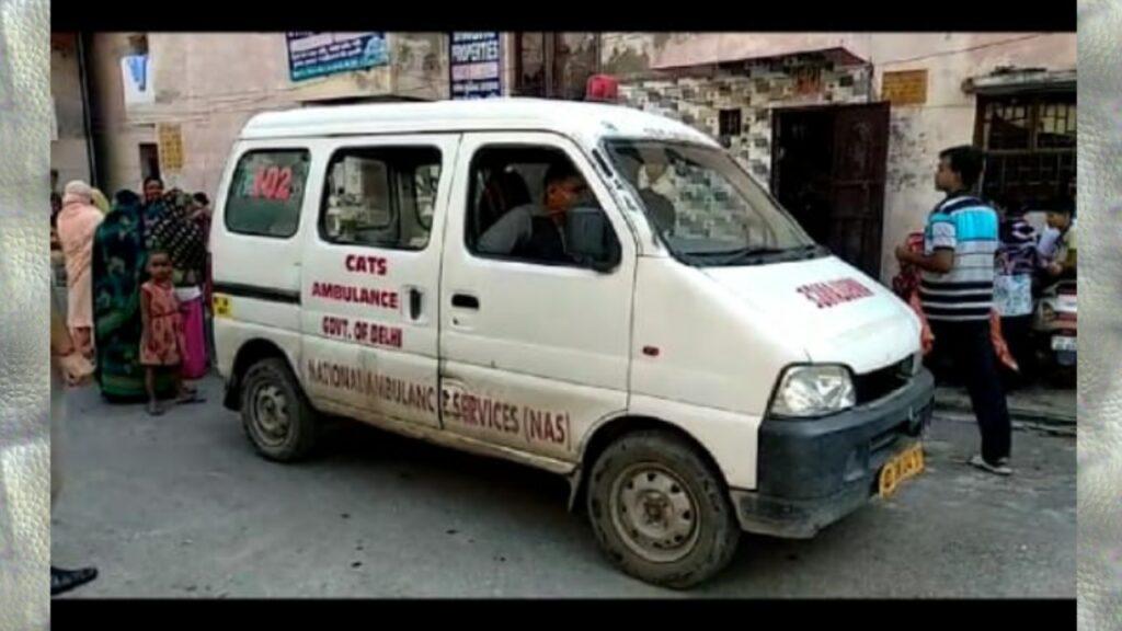 दिल्ली के नरेला में युवती की गला दबाकर हत्या।