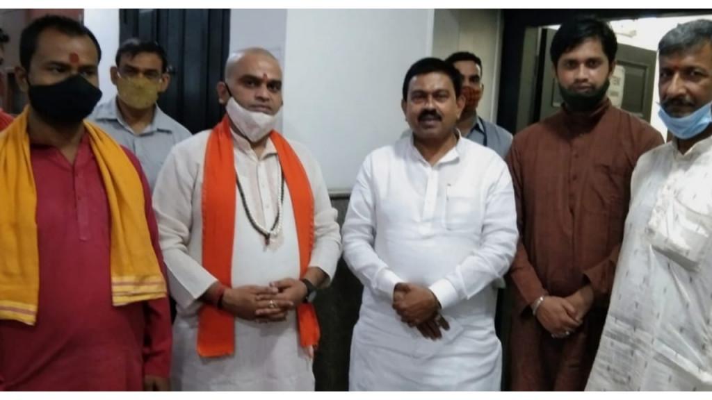ब्राह्मण प्रतिष्ठा परिषद द्वारा भारत सरकार के नए गृह राज्य मंत्री अनिल मिश्रा का स्वागत