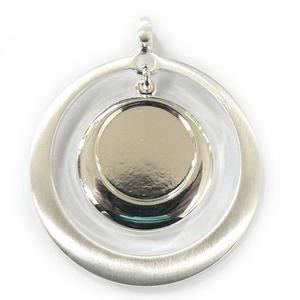 Drop Circle Pendant