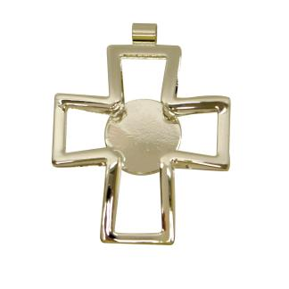 Silver-plated Cross