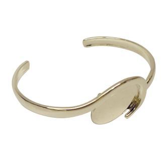 Bracelet - Oval Wave Cuff