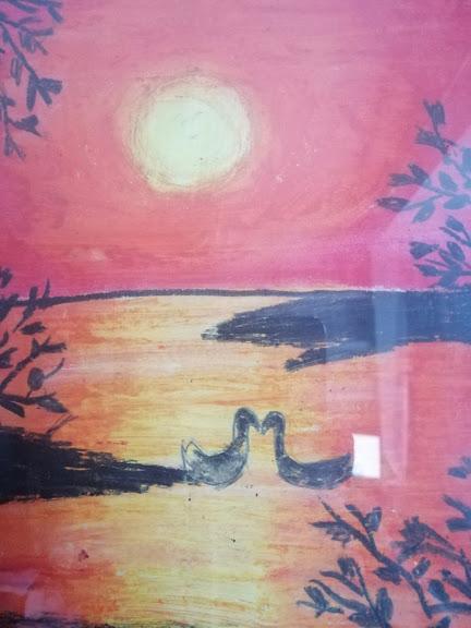 Aanya Pastel Painting 3