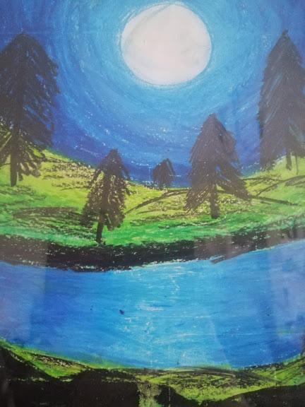 Aanya Pastal Painting 2