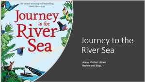Journey to the river sea Blog Cover