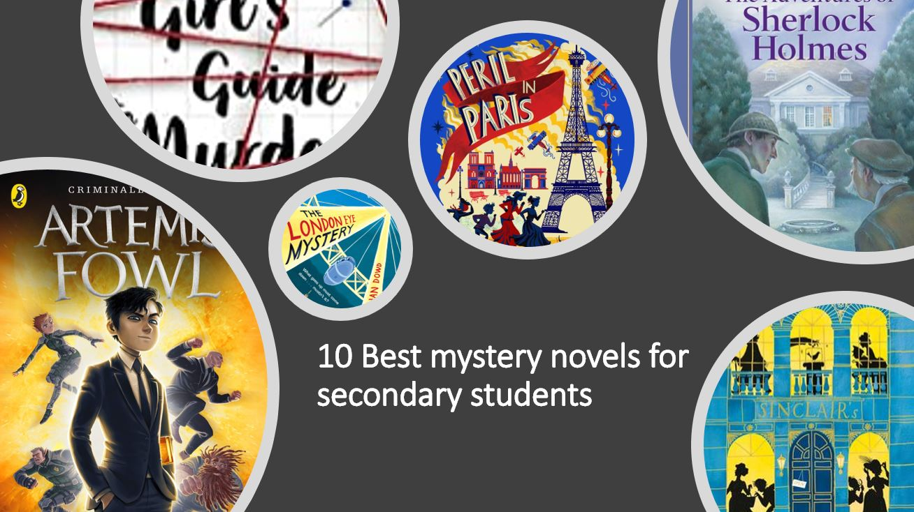 10 Best Mystery Novels For secondary Students