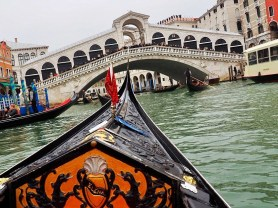 Rialto bridge - make a wish when you cross under