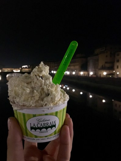 Gelato over the river