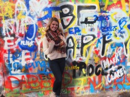 John Lennon memorial wall