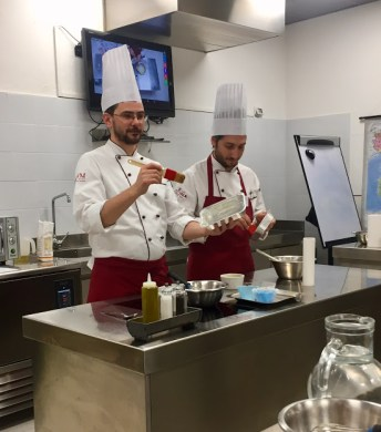 Our chef and his assistant