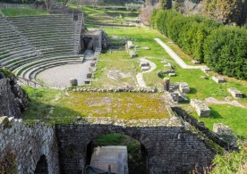 Amphitheater side view