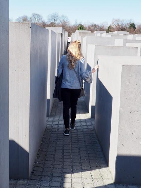Memorial to murdered jews of Europe