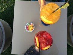 Sangria and Juice of Valencia