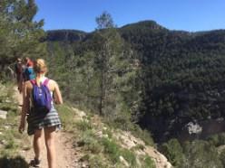 Hiking montenajos