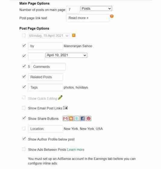 प्रोफेशनल लुक देने के लिए अपने ब्लॉगर ब्लॉग का डिज़ाइन कैसे बदलें?
