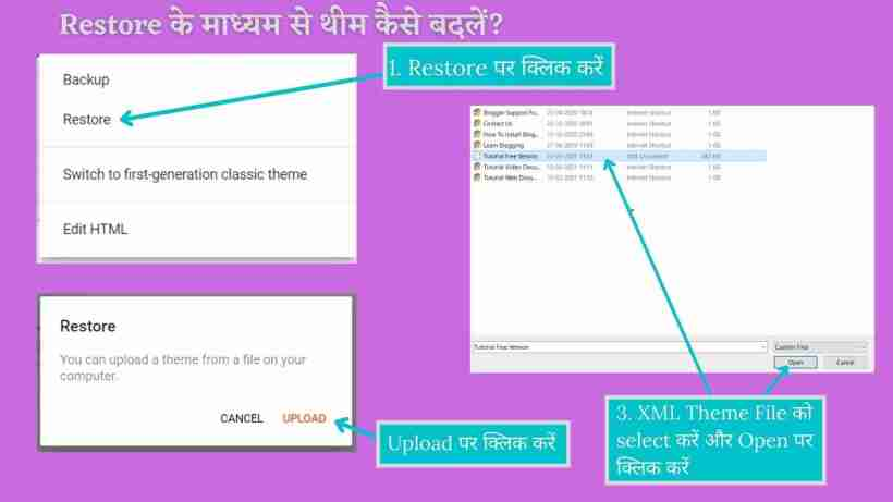 How to Change Theme in Blogger in Hindi