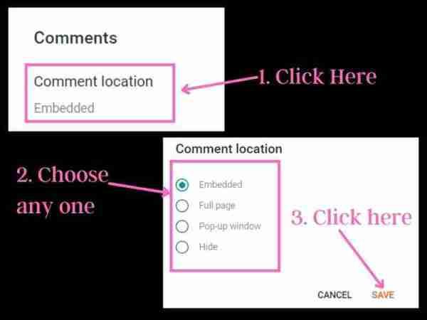 ब्लॉगर पर कमेंट सेक्शन को मैनेज कैसे करें?
