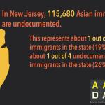 Infographic: AA Undocumented NJ  (2015)