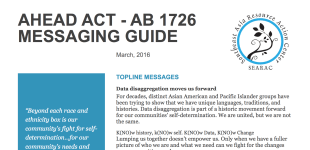 AHEAD Act (AB 1726) Messaging Guide