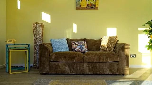 Green Living Room 1