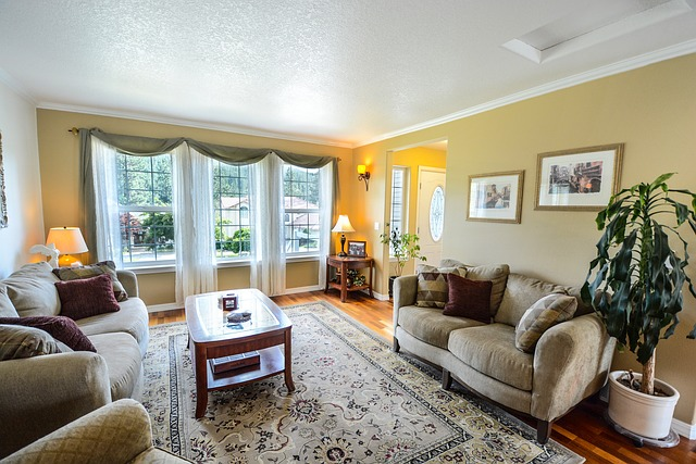 Mustard Color Living room 2