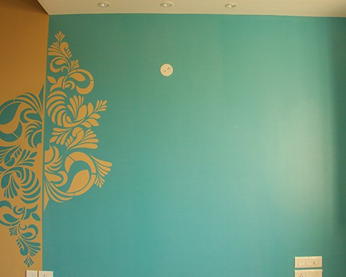 Wall Stencils Design Ideas- Funny and Catchy Stencil Design