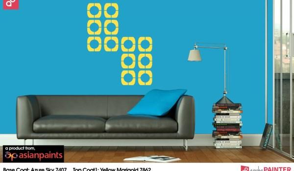 frames wall stencil designa