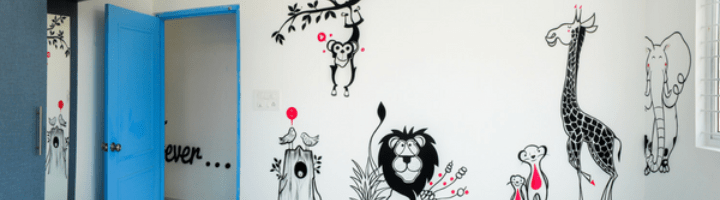Wall painting ideas to Promote the Joy of Learning