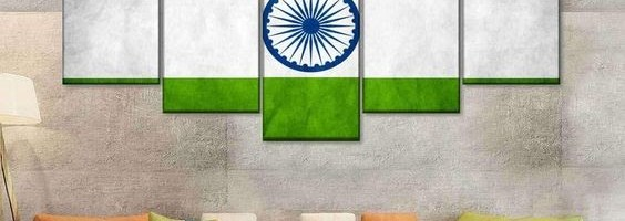 Wall Painting Ideas and designs for the Patriotic spirit