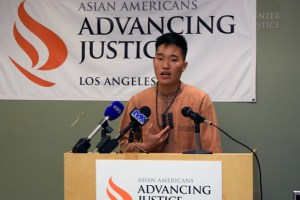Bo Daraphant, an intern at Korean Resource Center (KRC) Los Angeles and a member of ASPIRE-LA, who would have personally benefited from the expanded DACA program, expressed huge disappointment in the supreme court's decision but remained optimistic that the fight for immigration reform isn't over.