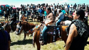Indigenous People Standing Up Against Building of Oil Pipeline Photo Source: nativenews.com