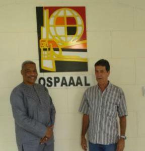 A-APRP comrade at OSPAAAL w Comrade Mario