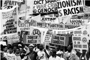 Anti-zionism demonstration