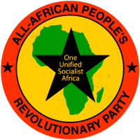 All-African People's Revolutionary Party logo - large
