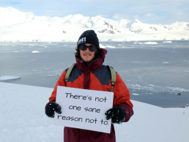 I want to save Antarctica because... Ed Wood, 21, UK