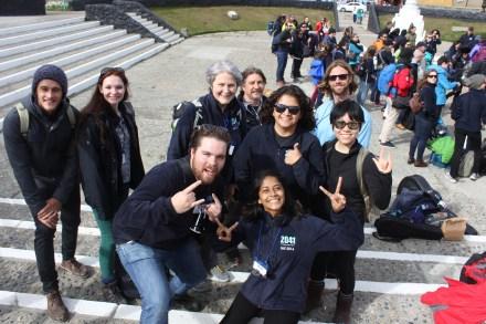 Team Meets: Ushuaia city square