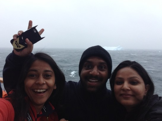 The first iceberg selfie!