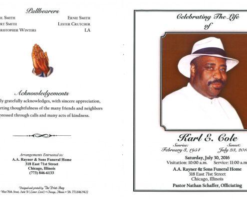 Karl E Cole Obituary 2121_001