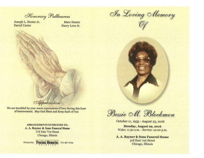 Bessie M Blockmon Obituary 2220_001