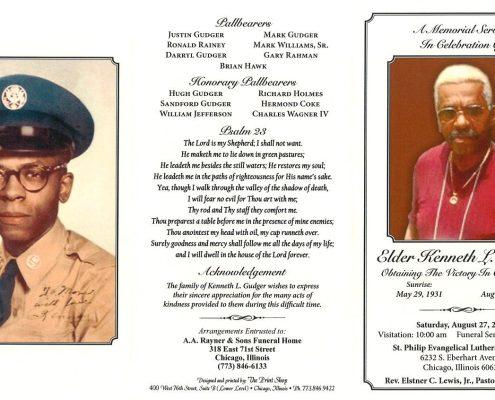 Elder Kenneth L Gudger Obituary 2219_001