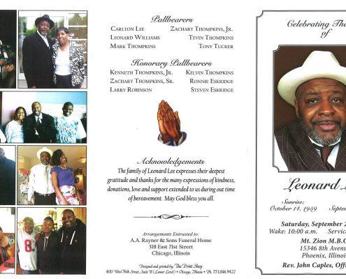 Leonard Lee Obituary 2330_001
