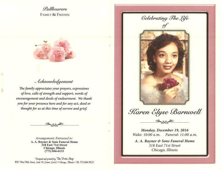 Karen Elyse Barnwell Obituary