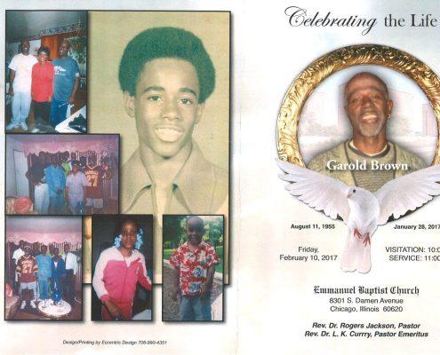 Garold Brown Obituary