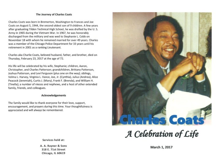 Charles Coats Obituary