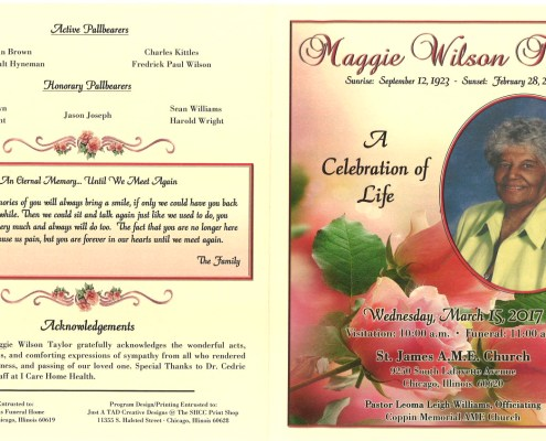 Maggie Wilson Taylor Obituary